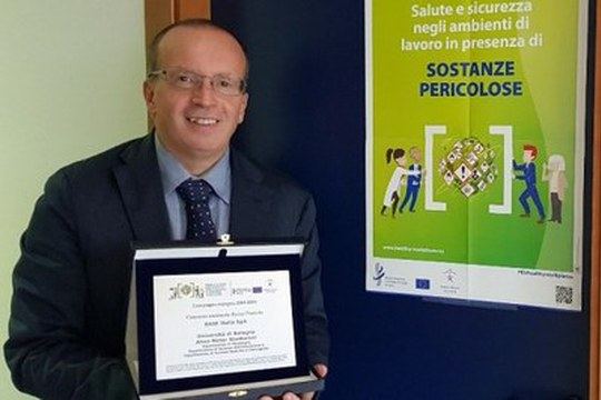 Progetto Unibo premiato da INAIL e dall'European Agency for Safety and Health at Work